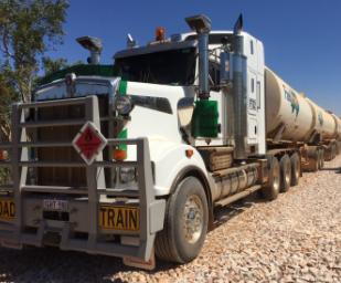 Buru Energy Truck
